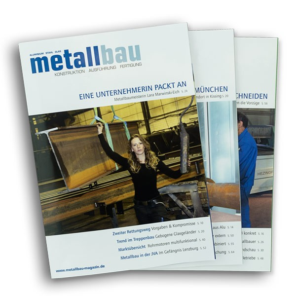 metallbau Einzelheft
