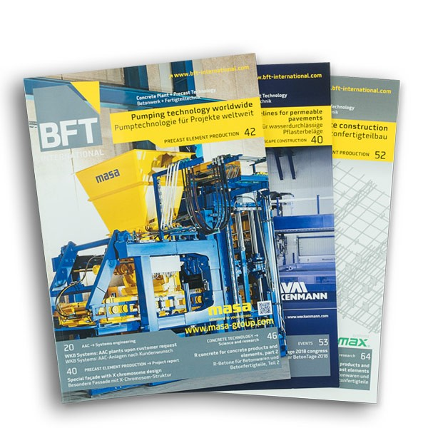 BFT INTERNATIONAL Einzelheft