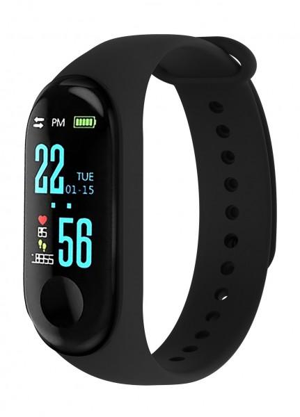 BLAUPUNKT Smartwatch schwarz