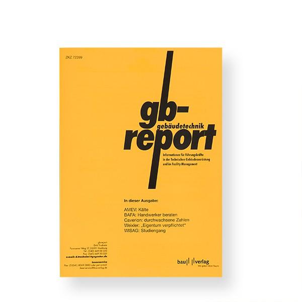 gb-report Einzelheft