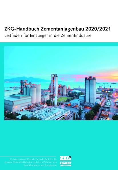 ZKG Handbuch Zementanlagenbau 2020/2021